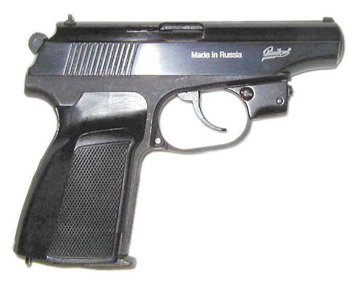 Лазерник на макарыч * Популярное оружие